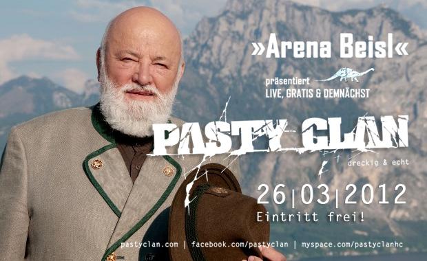 Pasty Clan im Arena Beisl Wien 26.03.2012