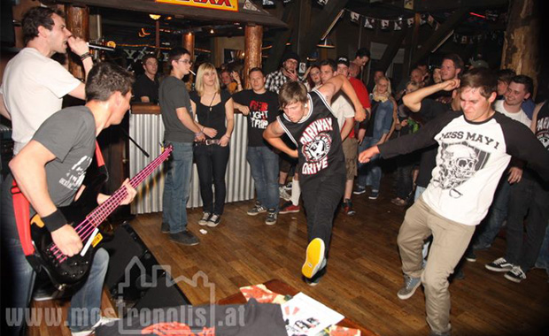 Pastyclan im Outback Roadhouse - 21.04.2012