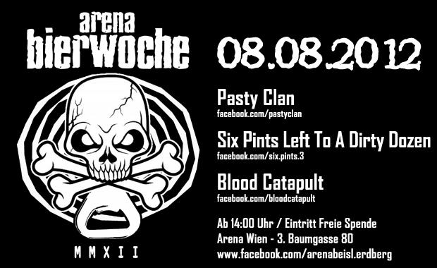 Pasty Clan auf der Arena Bierwoche 2012