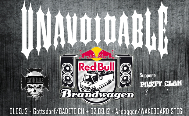 Unavoidable und Pasty Clan am Red Bull Brandwagen