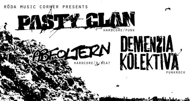 Pasty Clan im Röda Steyr 2013