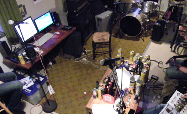 Pasty Clan - working on new song - 2014