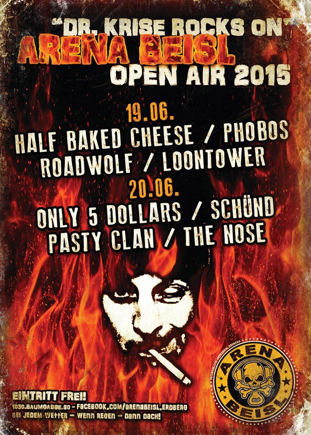 Pasty Clan am Dr. Krise Rock On-Festival 2015