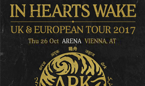 In Hearts Wake - Gideon - Pasty Clan - Arena Wien 26.10.2017