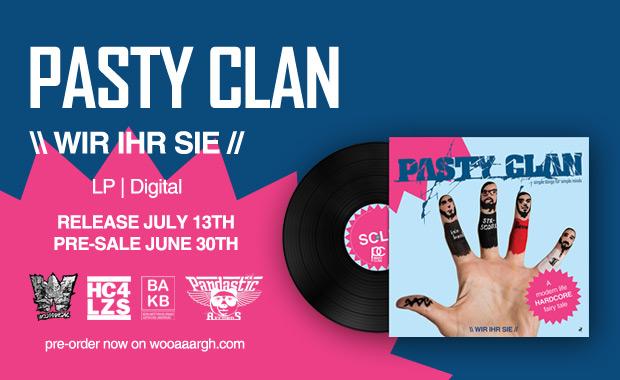 Pasty Clan Preorder Vinyl Banner